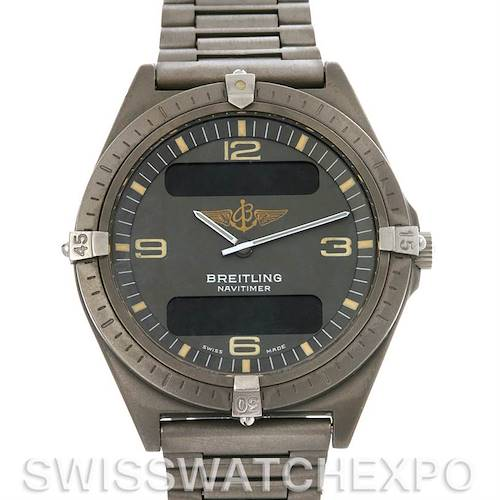 Photo of Breitling Aerospace Titanium Analog and Digital Quartz 80360