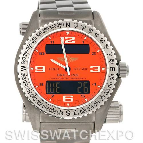 Photo of Breitling Professional Emergency Chrono Quartz Titanium E7632110 Watch