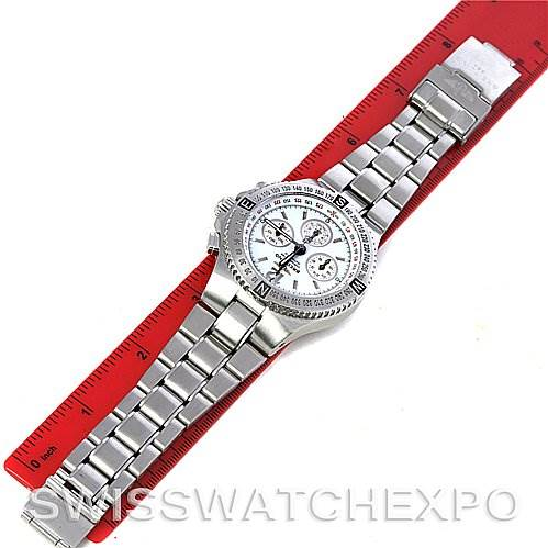 Breitling Hercules Mens Chronograph Steel Watch 3936310/A553 SwissWatchExpo