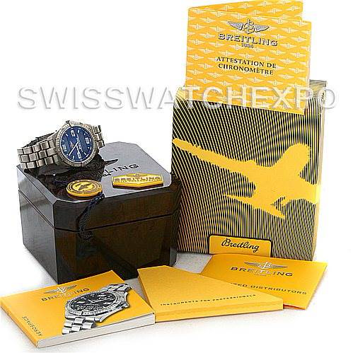 Breitling Aerospace Titanium Analog Digital Quartz E75362 SwissWatchExpo