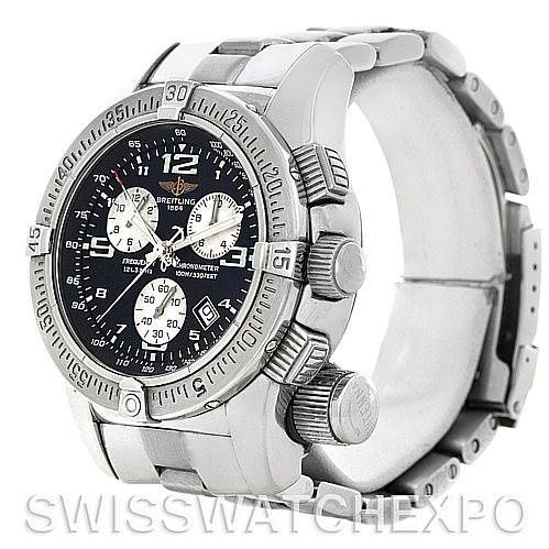 Breitling Professional Emergency Chronograph Mission Watch A73321 SwissWatchExpo
