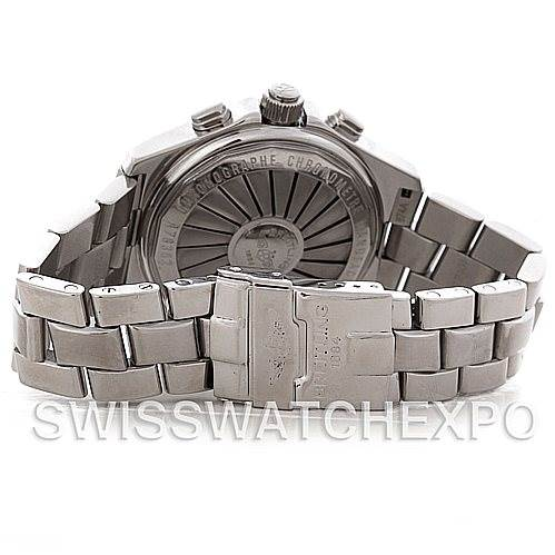 4690 Breitling Aerospace Steel Quartz Watch A78362 SwissWatchExpo