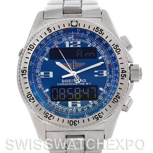 Photo of Breitling Aerospace Steel Quartz Watch A78362