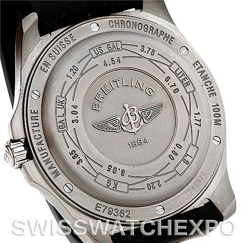 5394 Breitling Professional Aerospace Avantage Titanium Quartz Watch E79362 SwissWatchExpo