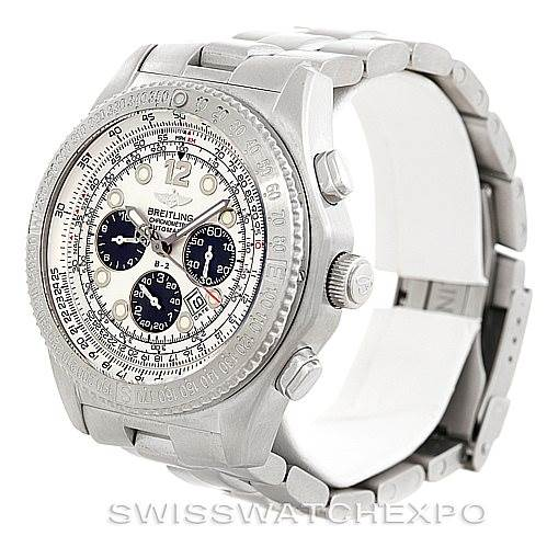 6184 Breitling Professional B-2 Mens Chronograph Steel Watch A42362 SwissWatchExpo