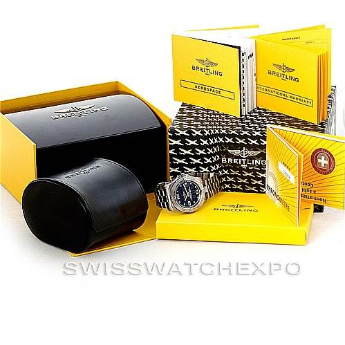 6301 Breitling Professional Aerospace Avantage Titanium Quartz Watch E79362 SwissWatchExpo
