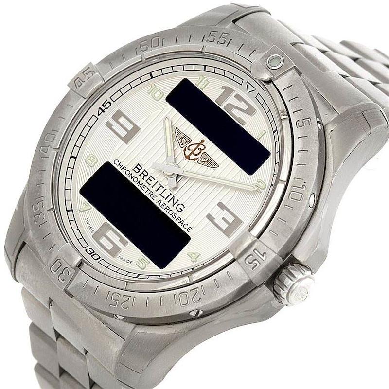 Breitling Professional Aerospace Avantage Titanium Quartz Watch E7936210 SwissWatchExpo