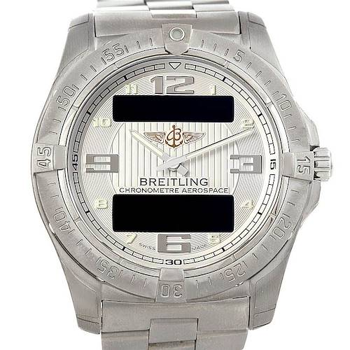 Photo of Breitling Professional Aerospace Avantage Titanium Quartz Watch E7936210