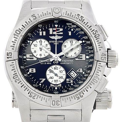 6530 Breitling Professional Emergency Chronograph Mission Watch A73322 SwissWatchExpo