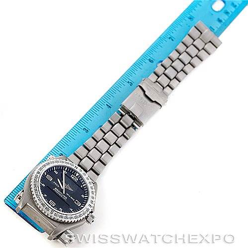 Breitling Professional Emergency Quartz Titanium Watch E56121 SwissWatchExpo