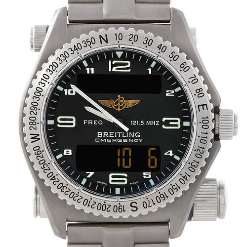 Photo of Breitling Professional Emergency Quartz Titanium Watch E56121
