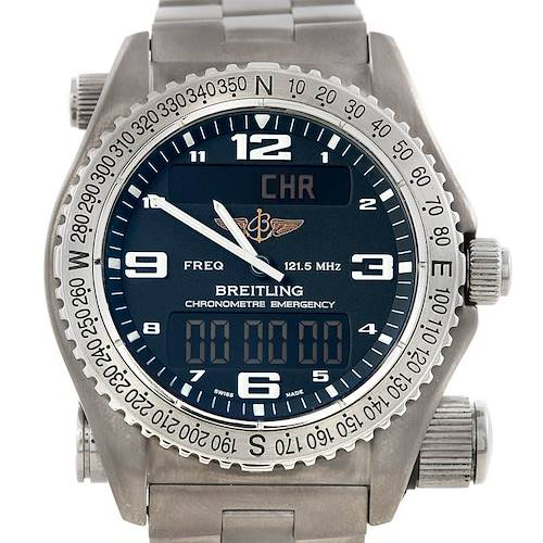 Photo of Breitling Professional Emergency Watch LCD Quartz Titanium E76321