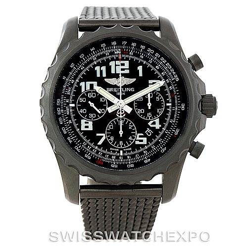 Breitling Chronospace Limited Edition PVD Watch M23360 Unworn SwissWatchExpo