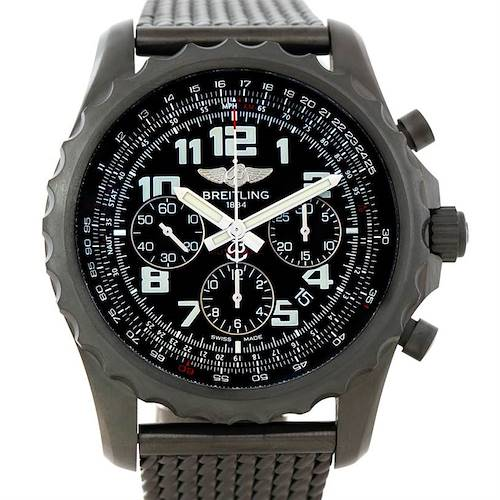 Photo of Breitling Chronospace Limited Edition PVD Watch M23360 Unworn