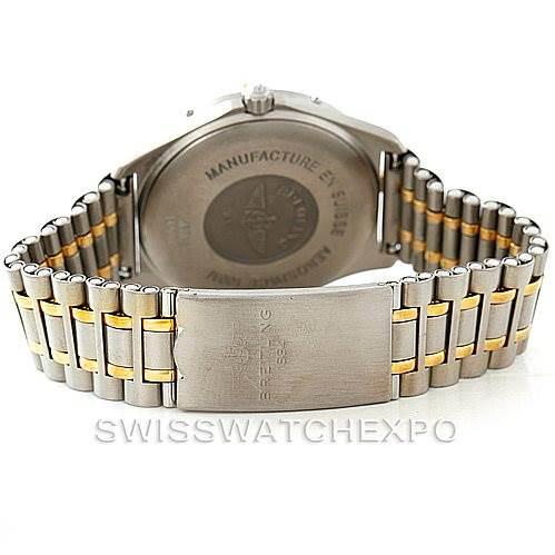 Breitling Aerospace Titanium Analog Digital Quartz Watch F56062 SwissWatchExpo