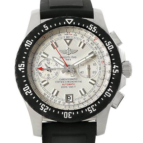 Photo of Breitling Skyracer Raven Steel Rubber Watch A27364
