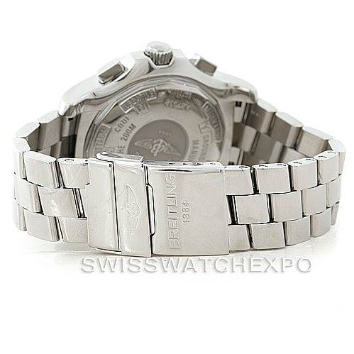8136 Breitling Professional Skyracer Mens Steel Watch A27362 SwissWatchExpo