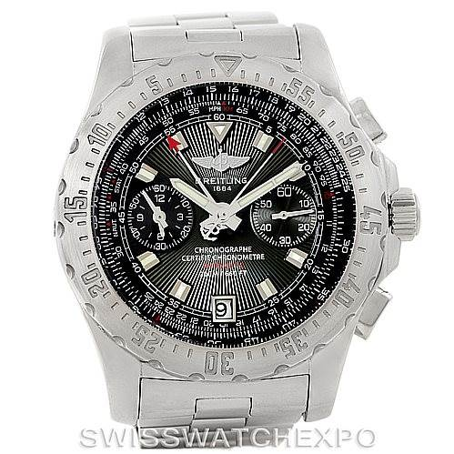 Breitling Professional Skyracer Mens Steel Watch A27362 SwissWatchExpo