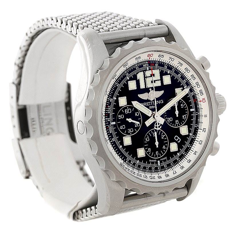 8304 Breitling Chronospace Automatic Steel Mens Watch A23360 SwissWatchExpo
