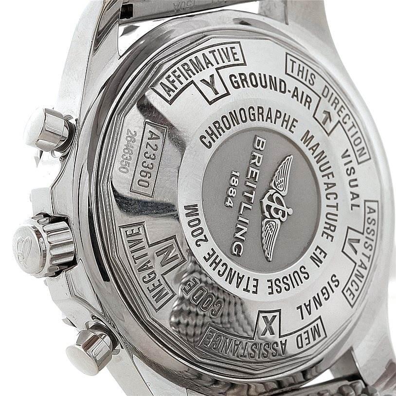 Breitling Chronospace Automatic Steel Mens Watch A23360 SwissWatchExpo