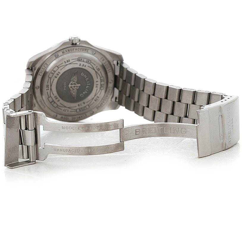 8423 Breitling Professional Aerospace Avantage Titanium Quartz Watch E79362 SwissWatchExpo