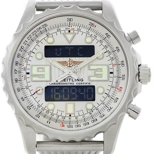 Photo of Breitling Professional Chronospace Steel Mens Watch A78365