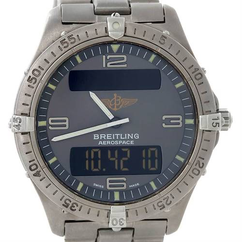 Photo of Breitling Professional Aerospace Titanium Quartz Watch E56062