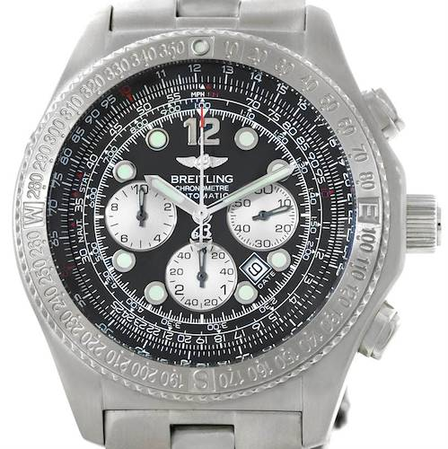 Photo of Breitling Professional B-2 Mens Chronograph Steel Watch A42362