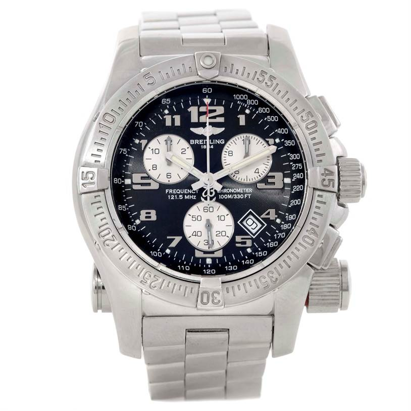 Breitling Professional Emergency Mission Chronograph Watch A73322 SwissWatchExpo