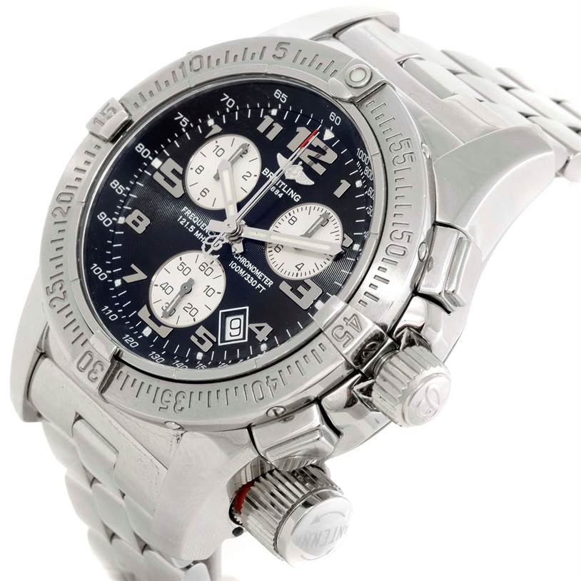 9527 Breitling Professional Emergency Mission Chronograph Watch A73322 SwissWatchExpo