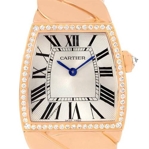 Photo of Cartier La Dona 18K Rose Gold Diamond Large Ladies Watch WE601008