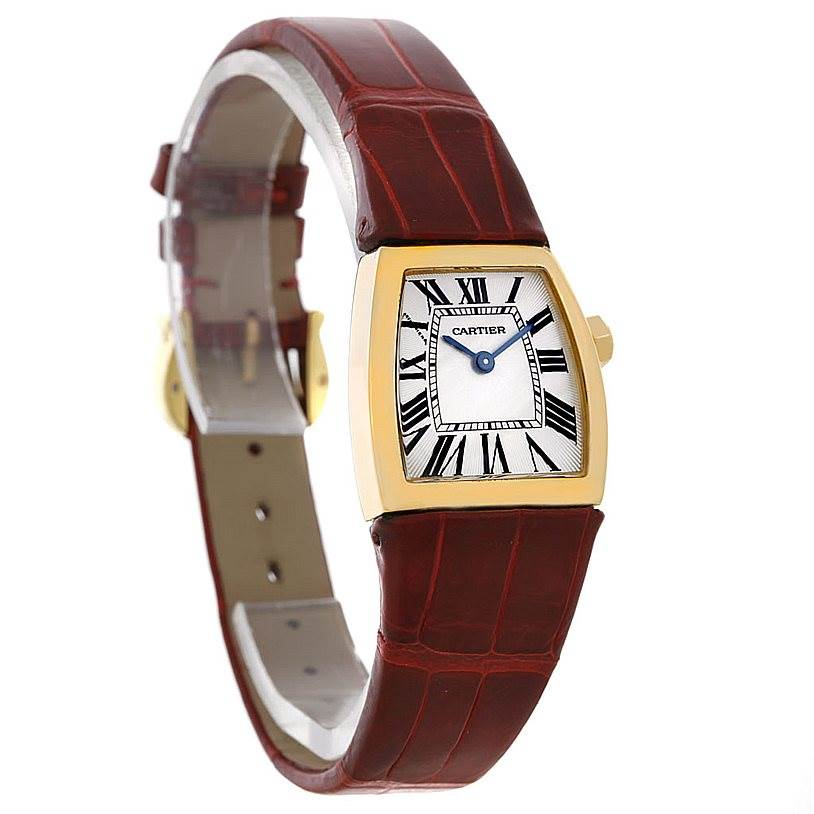 4478 Cartier La Dona Yellow Gold Ladies Small Watch W6400256 SwissWatchExpo