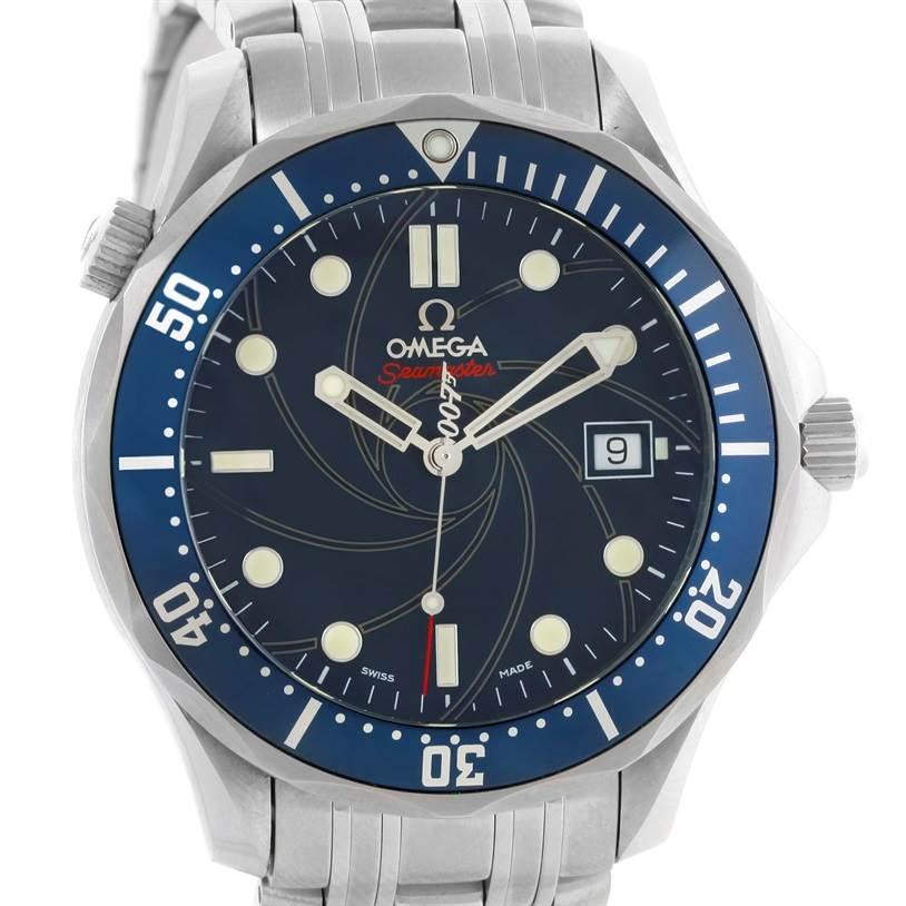 10416 Omega Seamaster James Bond Limited Edition Watch 2226.80.00 Unworn SwissWatchExpo
