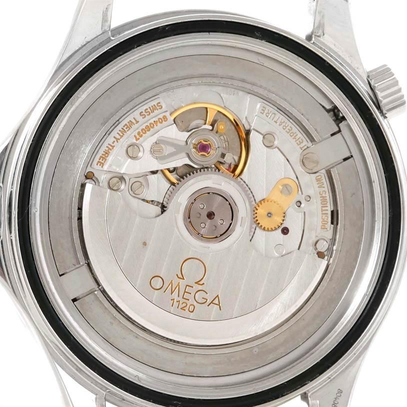 omega seamaster james bond limited edition gun logo watch