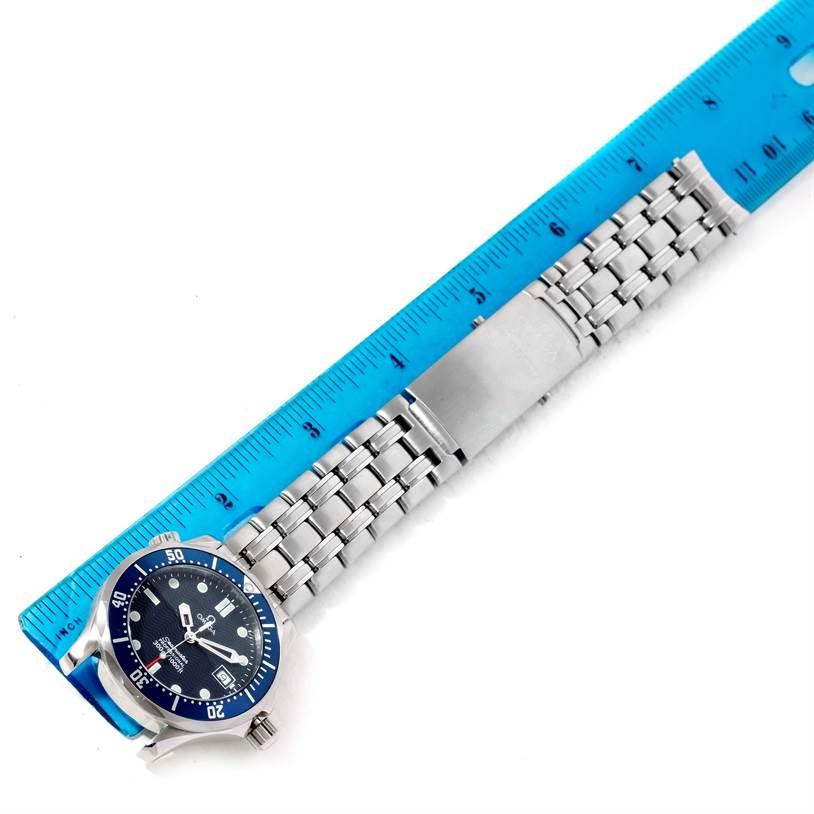 10725 Omega Seamaster James Bond Midsize 300M Watch 2561.80.00 SwissWatchExpo