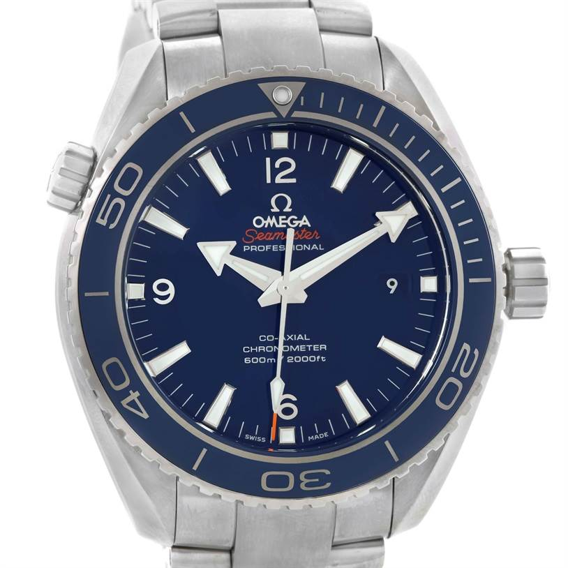 Omega Seamaster Planet Ocean LiquidMetal Watch 232.90.46.21.03.001