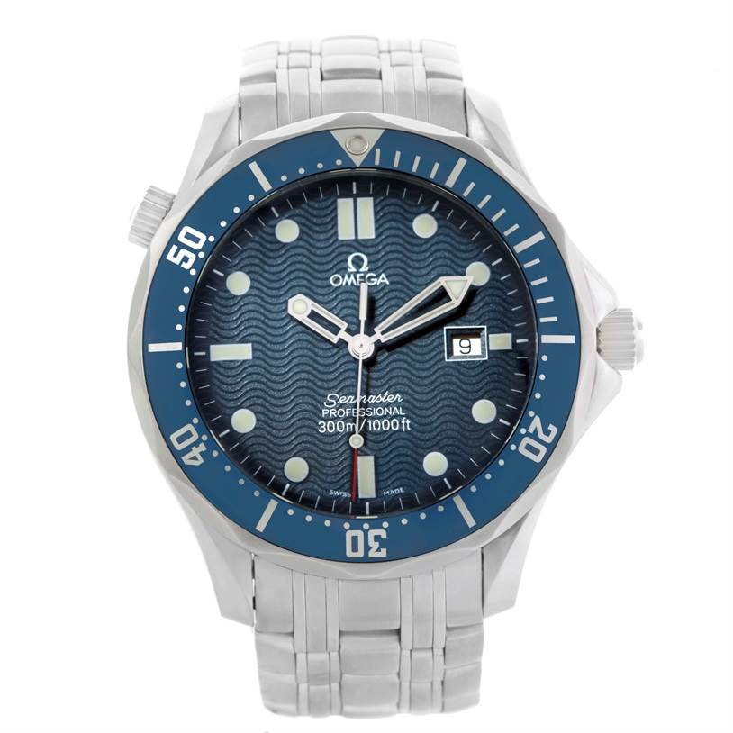 10922 Omega Seamaster Professional James Bond 300M Watch 2541.80.00 SwissWatchExpo