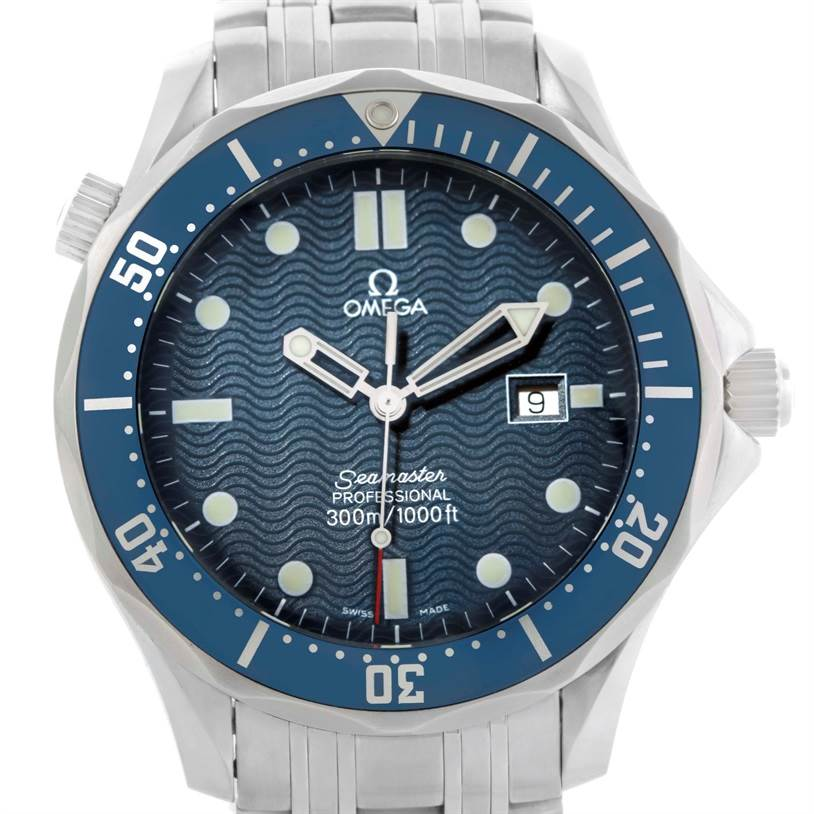 10922 Omega Seamaster Professional James Bond 300M Watch 2541.80.00 SwissWatchExpo