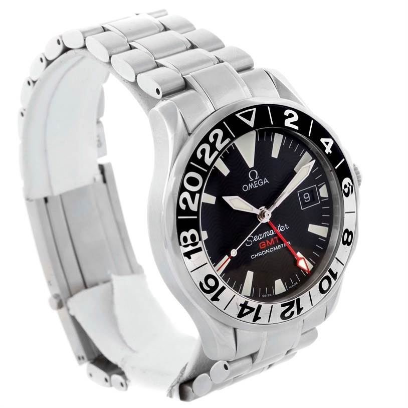 omega seamaster gmt 50th anniversary mens watch. Black Bedroom Furniture Sets. Home Design Ideas