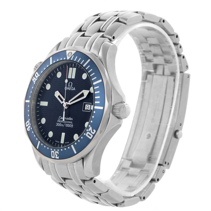 11587 Omega Seamaster Professional James Bond 300M Quartz Watch 2541.80.00 SwissWatchExpo