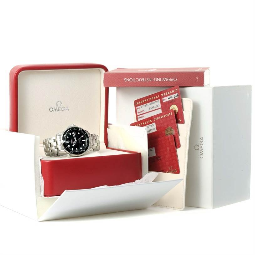11992 Omega Seamaster Professional James Bond 212.30.41.20.01.002 Unworn SwissWatchExpo