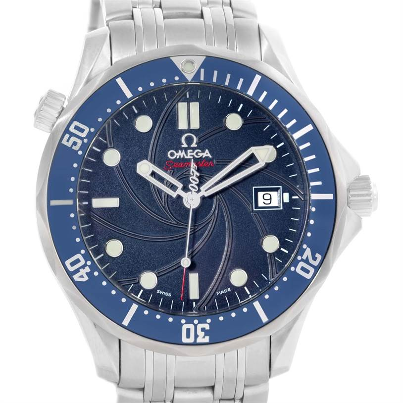 12526 Omega Seamaster James Bond Limited Edition Watch 2226.80.00 Box Papers SwissWatchExpo