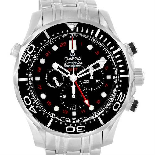 Photo of Omega Seamaster Diver 300M Co-Axial GMT 44mm Watch 212.30.44.52.01.001