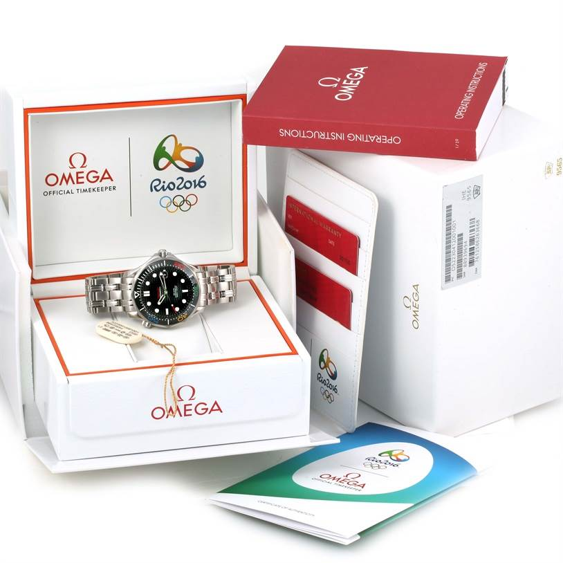 13032 Omega Seamaster Olympic Rio 2016 Limited Watch 522.30.41.20.01.001 SwissWatchExpo
