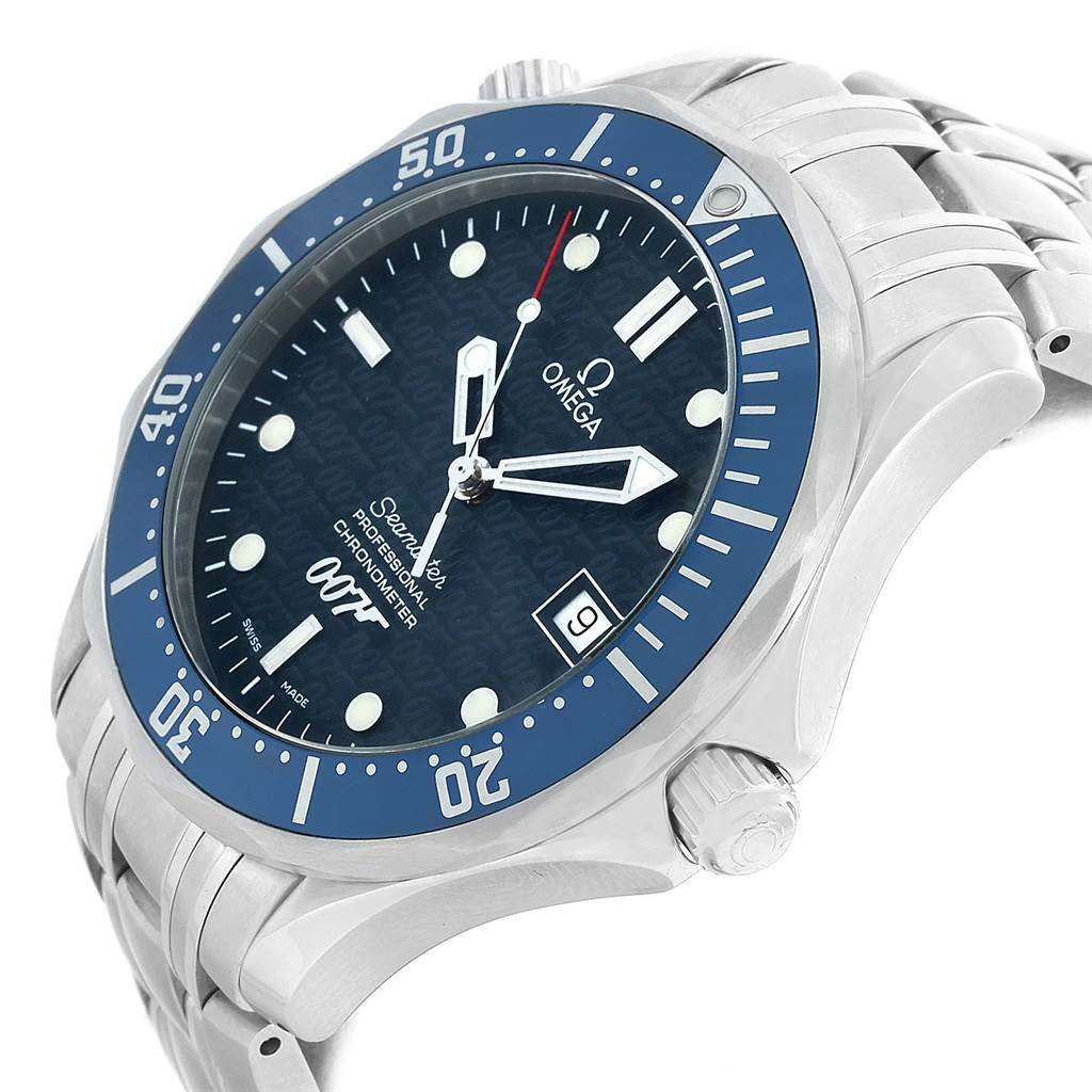 13619 Omega Seamaster 40 Years James Bond Limited Edition Watch 2537.80.00 SwissWatchExpo
