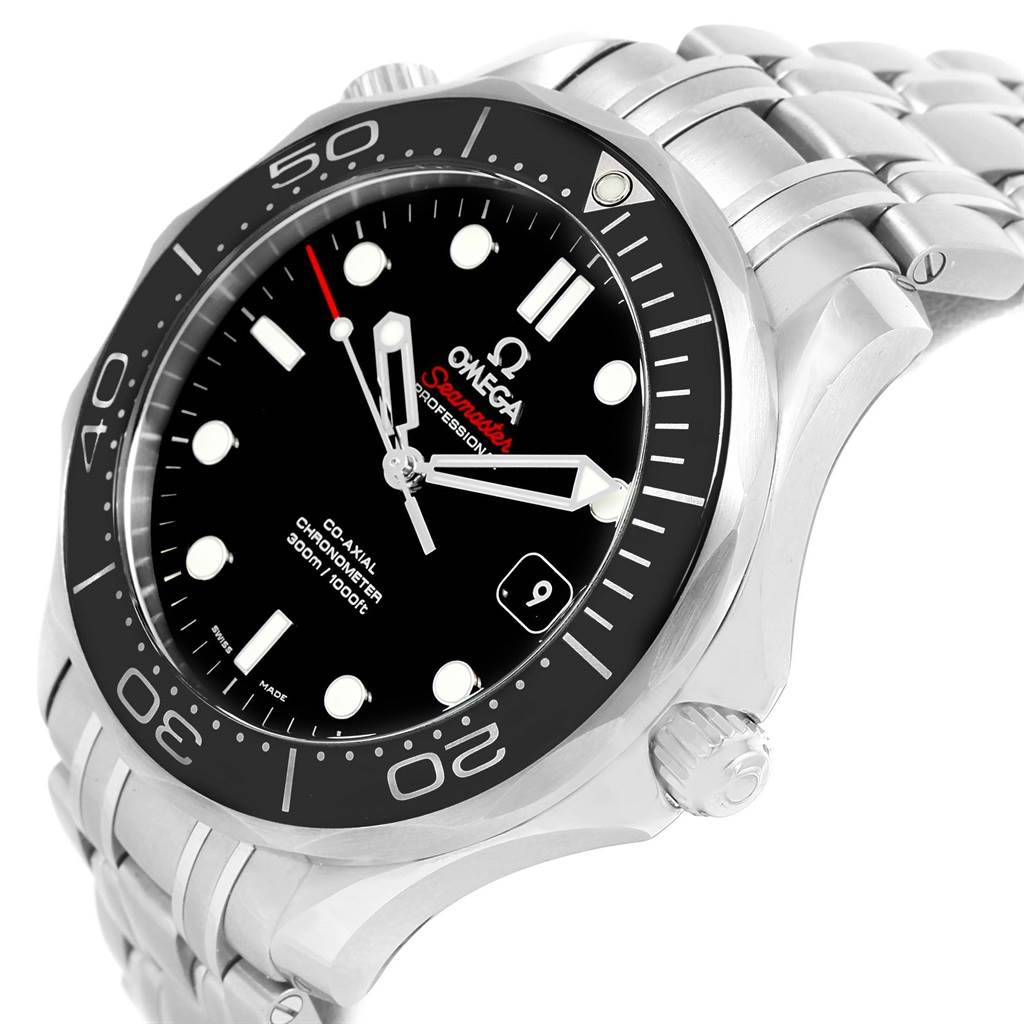 14338 Omega Seamaster 300M C0-Axial Watch 212.30.41.20.01.003 Box Papers SwissWatchExpo