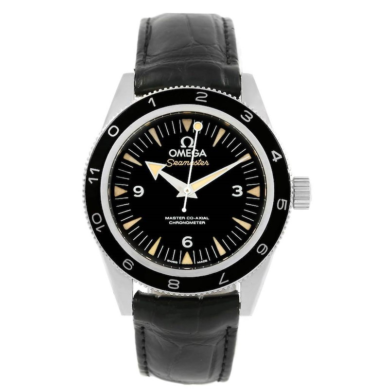 Omega Seamaster 300 Spectre Limited Edition Watch 233.32.41.21.01.001 SwissWatchExpo