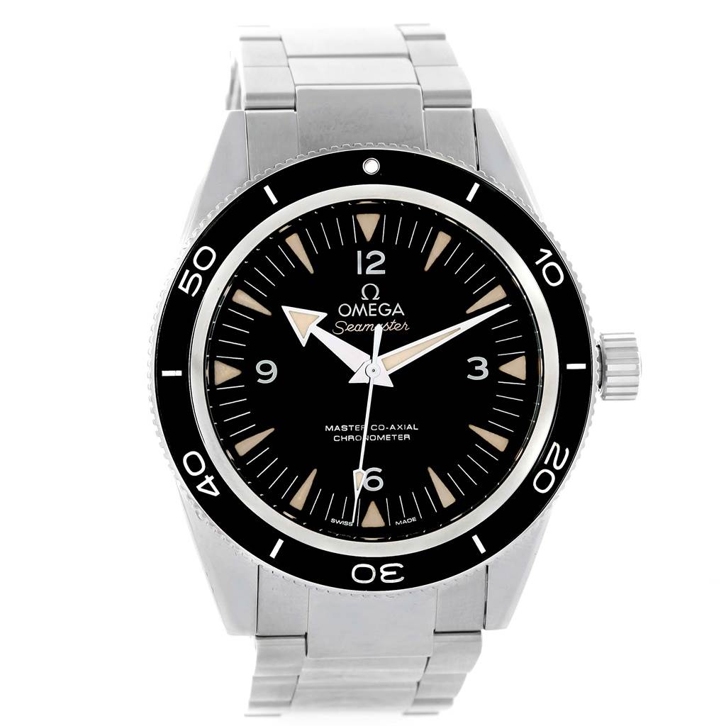 15487 Omega Seamaster 300M Co-Axial Mens Watch 233.30.41.21.01.001 Box Card SwissWatchExpo