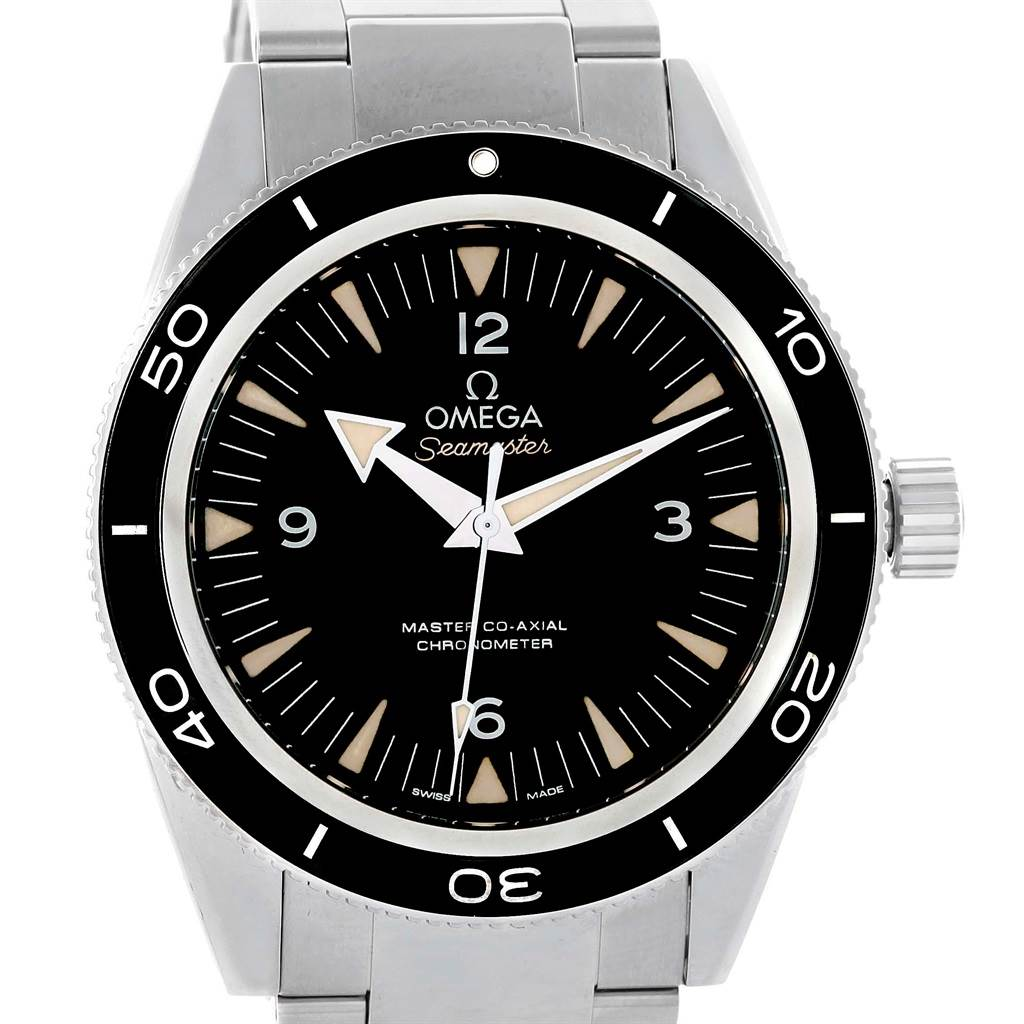 Omega Seamaster 300M Co-Axial Mens Watch 233.30.41.21.01.001 Box Card SwissWatchExpo