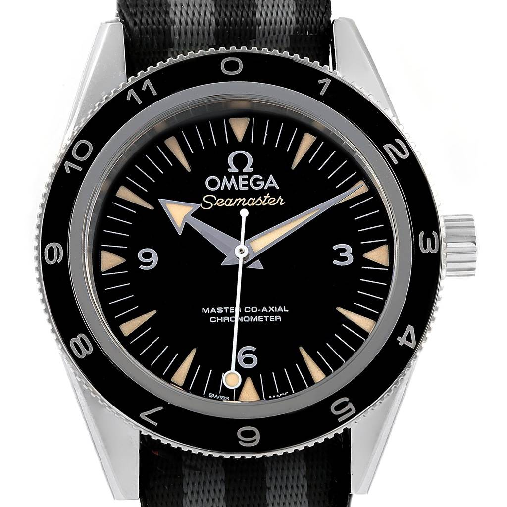 17666 Omega Seamaster 300 Spectre LE Watch 233.32.41.21.01.001 Box Papers SwissWatchExpo